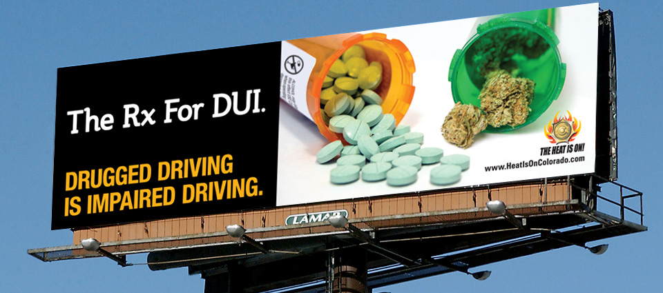 CDOT Anti-Drugged Driving Campaign